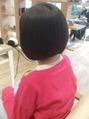 小学2年生、天使のヘアドネーション!