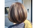 ボブ×インナーカラー 泉大津美容室bros.THE HAIR