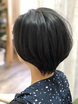 オススメ☆黒髪でも◎ 春の上品ショートスタイル^_^_20200325_1