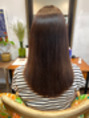 ミーノ(mieno)アッシュベージュ×髪質改善カラー*