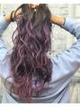pink×violet