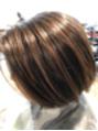 白髪ぼかしハイライトの【3か月後リアルお客様写真】