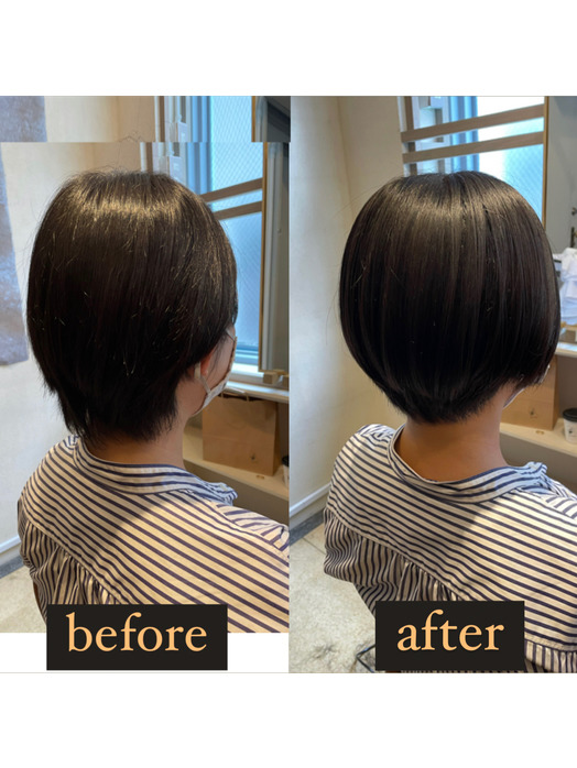 ショートヘアの髪質改善_20210929_1