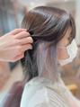 オーブ ヘアー モナ 宮崎店(AUBE HAIR mona)チラ見せ☆インナーカラー