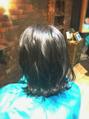 秋先取りヘアスタイル。。。