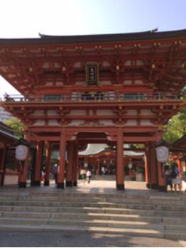 神戸・生田神社♪_20170722_2