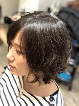 【横浜美容室Afinar】初夏はショートでパーマ☆_20180517_1