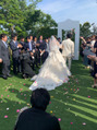 結婚式(^^)
