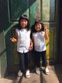 可愛い姉妹