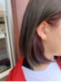 オーブ ヘアー リゾート 沖縄店(AUBE HAIR resort)流行りのインナーカラー