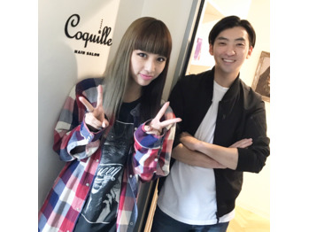今、大注目アーティスト lol のhonokaちゃんご来店☆_20170518_1