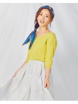 スカーフを使ったヘアアレンジ_20161121_1