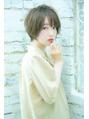 女性らしさを+丸みショートが可愛い!by濱田