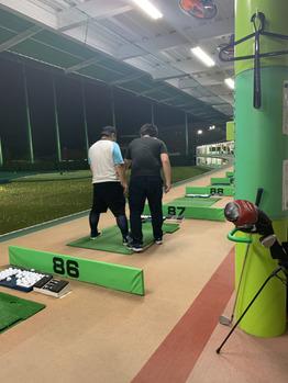 大西★ゴルフ練習中!_20190523_1