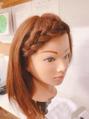 前髪アレンジpart2