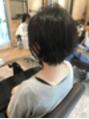 【aina銀座】首元スッキリショート