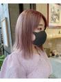 ピンク、赤、オレンジ★人気の暖色系カラー★