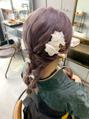 卒業式★シンプル編み下ろし