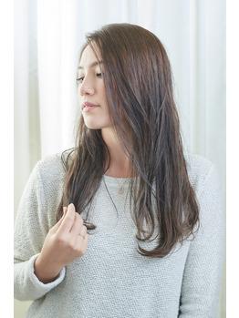 【かきあげスタイル】篠原涼子さん風なかきあげロング