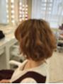 ゆる巻きヘア