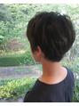 スタイルショートヘア
