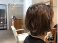グラデ切りっぱ Before→ After