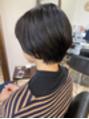 黒髪ショートボブ☆