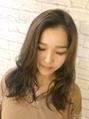 ジェシカ ニシノミヤ(Jessica NISHINOMIYA)ニュアンス巻き 外国人風スモーキートパーズカラー