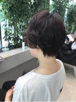 【藤山】ショート☆パーマスタイル_20180710_1