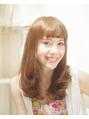 【透明感☆UP】水カラー+カット+Tr付¥4500