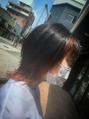 紫→オレンジへ