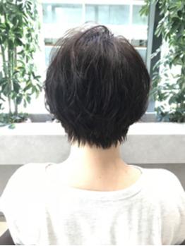 【藤山】ショート☆パーマスタイル_20180710_2