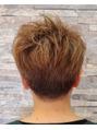 クセ毛を生かしたヘアースタイル