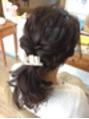 結婚式のヘアセット☆