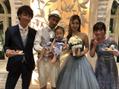 結婚式に行ってきました!