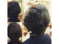 髪質がいいとスタイリングも簡単♪