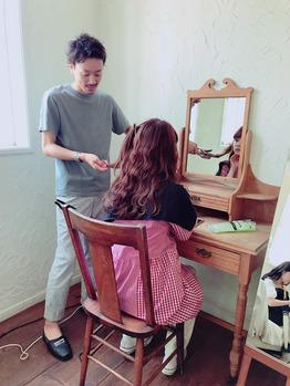 村田倫子ちゃんヘアメイク。_20180523_4
