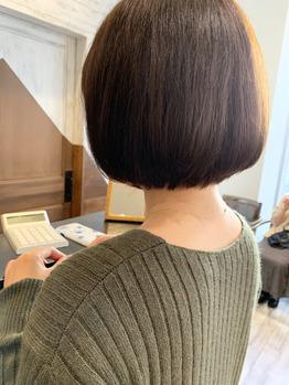 冬の髪型はこれに決まり!首スッキリボブ!_20191202_1