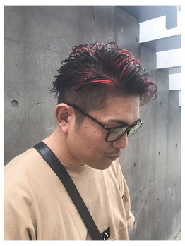 赤メッシュ☆_20190827_1