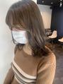 アグ ヘアー ウカー 塩尻店(Agu hair ukar)アディクシーカラーで透明感を☆