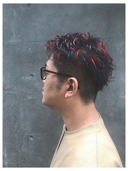 赤メッシュ☆_20190827_2
