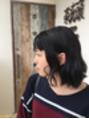 素敵な黒髪スタイル