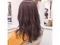 お客様hair!! #ハイライト#ラベンダーブラウン