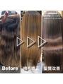 綺麗で健康的な艶髪を目指す方必見!矯正から髪質改善
