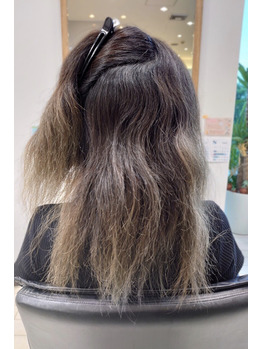 魔法の髪質改善!!