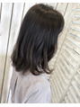伸ばしかけヘアスタイル