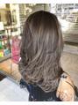 ヘアメイク シュシュ(Hair make chou chou)LAハイライトクールアッシュカラー!