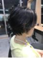 オーク 恵比寿(OAK)濡れ感スタイリングショートヘア