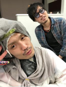 パーマ巻き巻き(*^ω^*)_20180329_1
