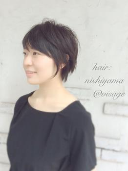 黒髪ショート分析☆柔らかく魅せるには理由がある!